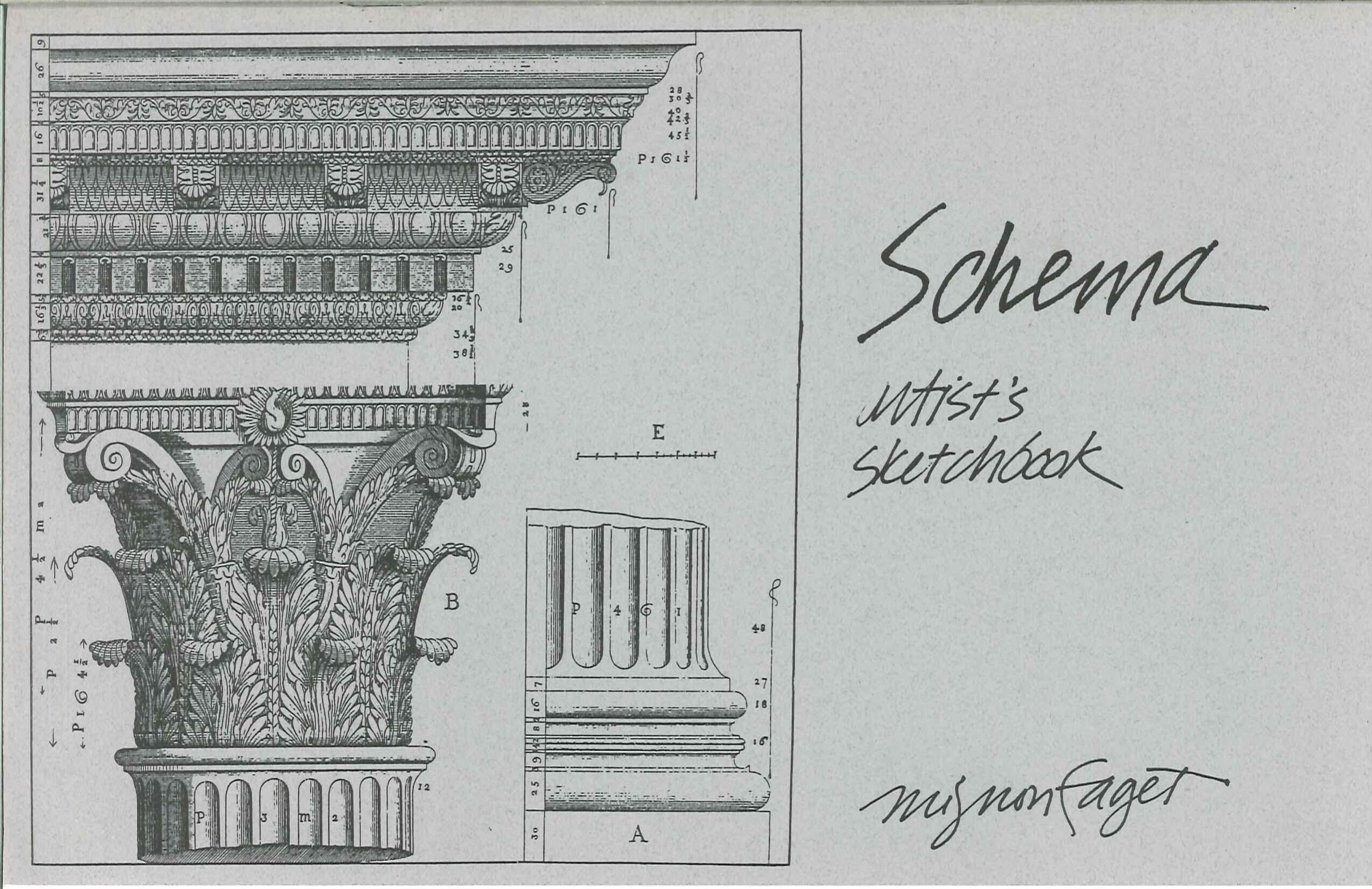 Schema Artist's Sketchbook Cover